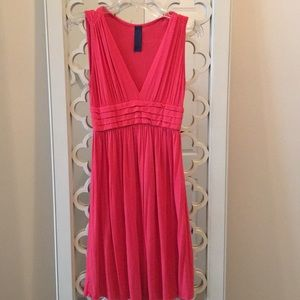 Coral Pink Sleeveless Dress from Francesca's
